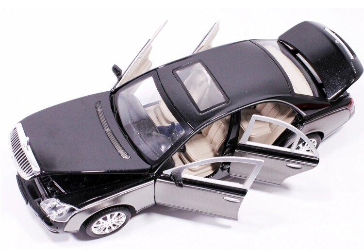 Машинка металлическая инерционная Мерседес-бенц Майбах  Maybach 62S 1:24