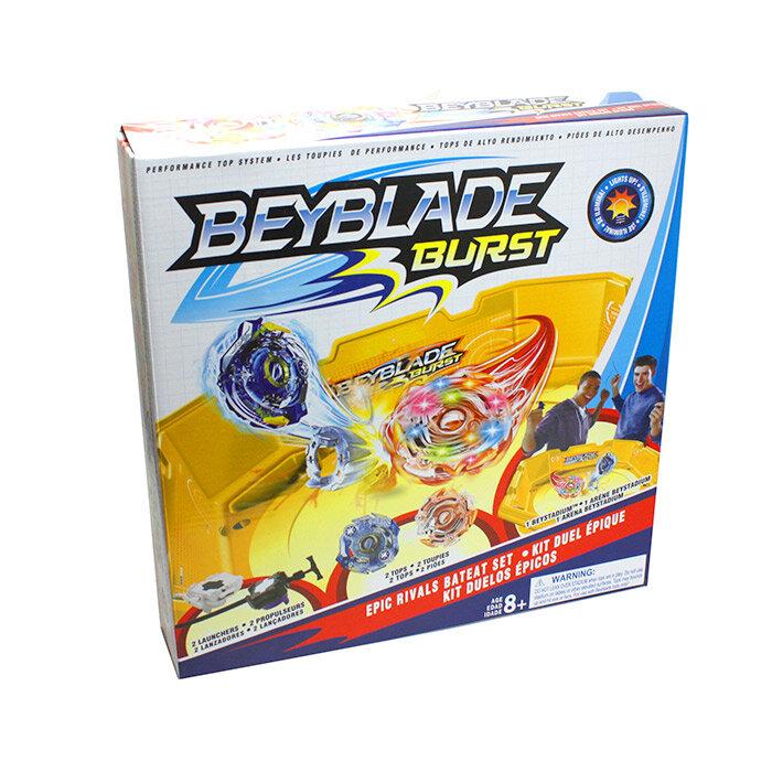 Игровой набор Beyblade Burst с ареной и световыми волчками