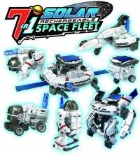 Конструктор на солнечной батарее Космический флот 7 в 1