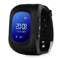Детские умные часы Baby Watch Q50 Черные (с датчиком снятия)