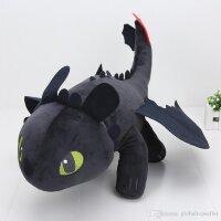 Плюшевый Дракон Беззубик 43 см.
