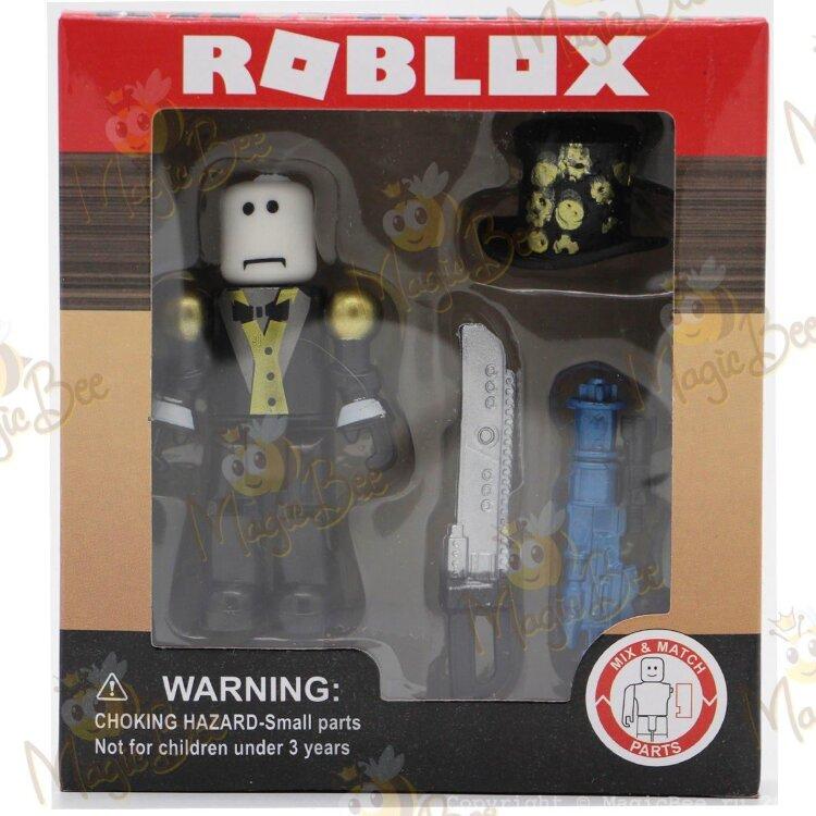 Фигурка Roblox (Роблокс)- Robots Riot - Джентельмен