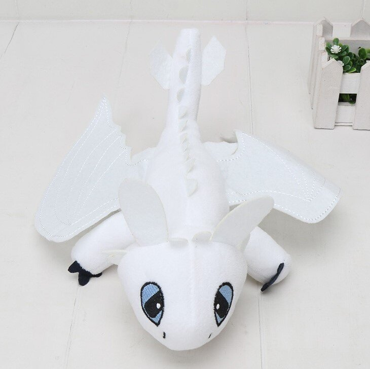 Плюшевый дракон Дневная фурия 43 см.
