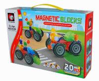 Магнитный конструктор Magnetic Blocks 20 деталей