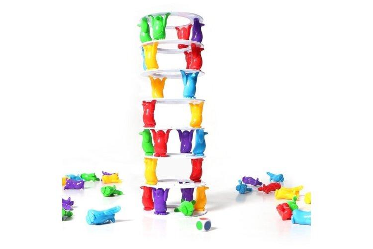 Настольная игра  «Башня пингвинов» Tower collapse