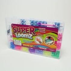 Набор для плетения браслетов из резинок Super loomz