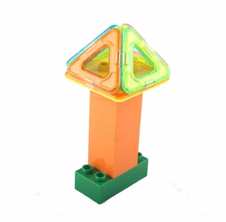 Магнитный конструктор Magnetic Blocks 32 детали Xinbida