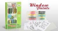 Набор для создания витражей Window Paint Животные