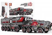 Конструктор Sembo Военная машина 107009 (3712 деталей)
