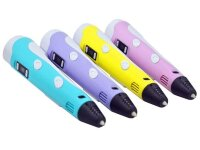 3Д Ручка с LCD дисплеем 3D pen-2