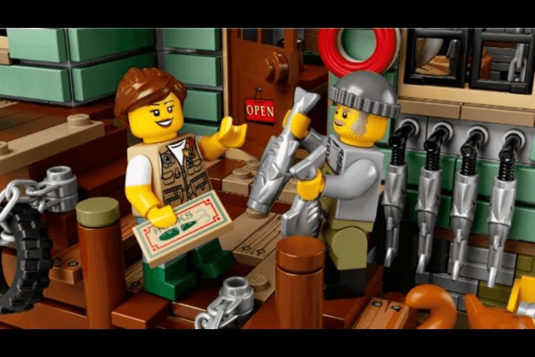 Конструктор «Старый рыболовный магазин» 2295 дет. IDEAS 8001