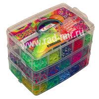 Набор для плетения браслетов из резинок  Loom Band MEGA 10000