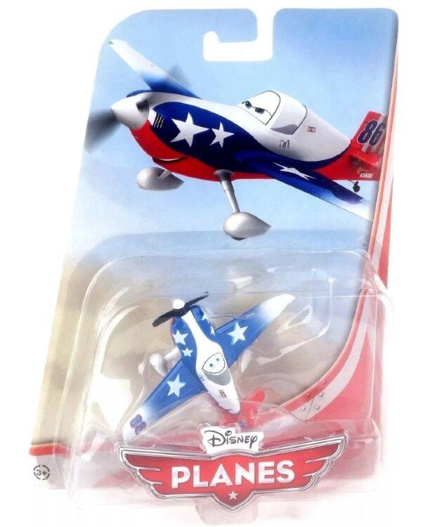 Модель самолета-истребителя 86 LJH Special металл,  Disney Planes