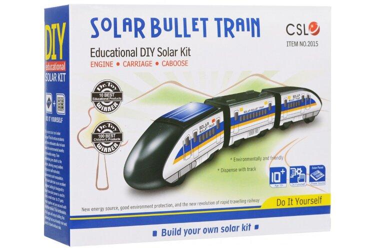 """Конструктор """"Поезд-пуля"""" на солнечной батарее SOLAR BULLET TRAIN"""