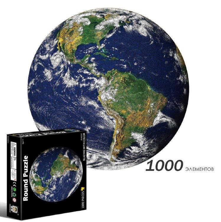 LERO KIDS развивающий Round Пазл из 1000 элементов - Земля