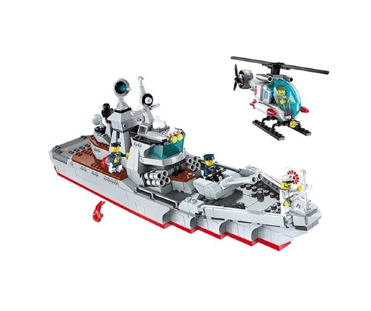 Конструктор Морской патруль  QMAN 1722(Enlighten Brick) 539дет.