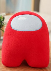 Мягкая игрушка Красный из Among US  Классический Амонг АС  20 см