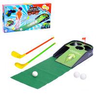 Мини гольф Чемпион, световые и звуковые эффекты, работает от батареек
