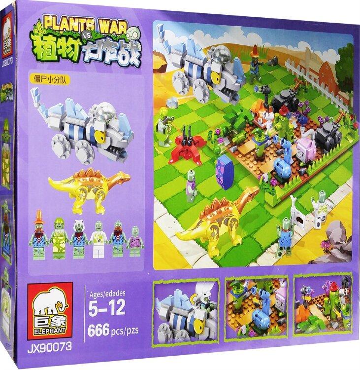 Конструктор Растения против Зомби Plants War JX90073