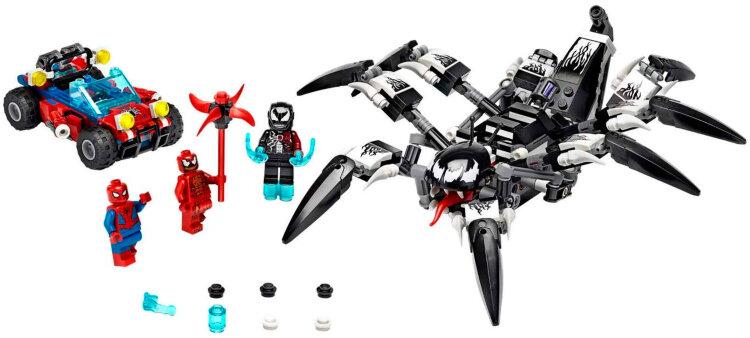 Конструктор Краулер Венома  Человек паук  431  дет. Spider Hero 11502