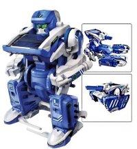 Игрушка-конструктор на солнечных батареях «Робот Трансформер» 3 в 1