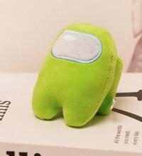 Мягкая игрушка Зеленый из Among US  Классический Амонг АС  20 см