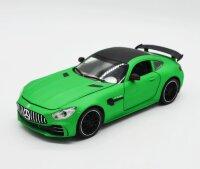 Машинка металлическая инерционная Mercedes-Benz GT63 AMG (зеленая) 1:24