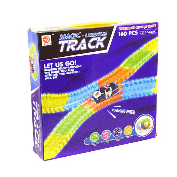 Светящаяся трасса Magic Track 160 деталей