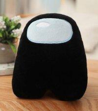 Мягкая игрушка Черный из Among US  Классический Амонг АС  20 см