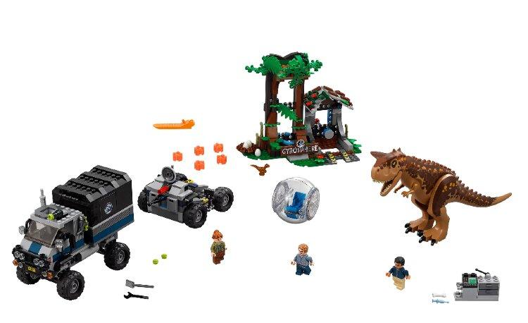 Конструктор Побег в гиросфере от карнотавра My World 39117 Dinosaur World
