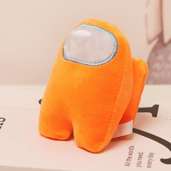 Мягкая игрушка Оранжевый из Among US  Классический Амонг АС  20 см