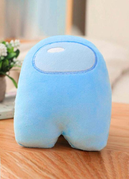 Мягкая игрушка Голубой из Among US  Классический Амонг АС  20 см