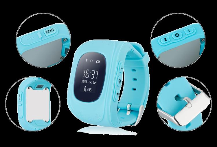 Детские умные часы Baby Watch Q50 Розовые
