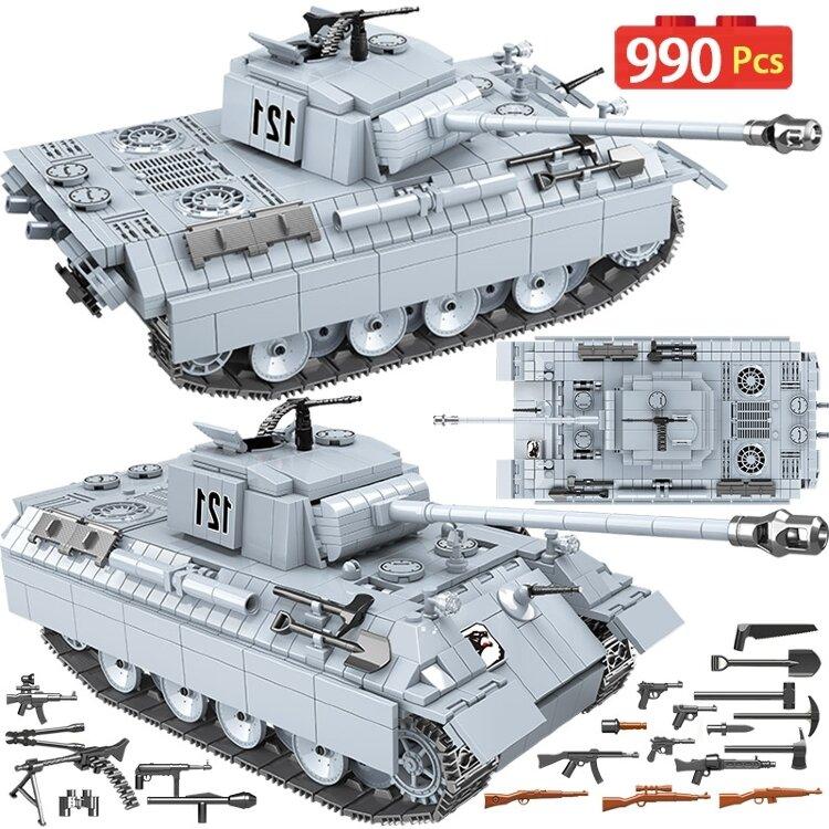 Конструктор Quan Guan Classic 100064 Танк Пантера Panther