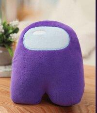 Мягкая игрушка Фиолетовый из Among US  Классический Амонг АС  20 см