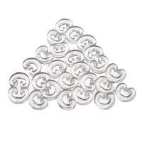 С-клипсы для крепления браслетов из резиночек (300 шт.)