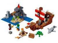 "Конструктор Майнкрафт ""Приключения на пиратском корабле"" 404 дет. Lari  11170"