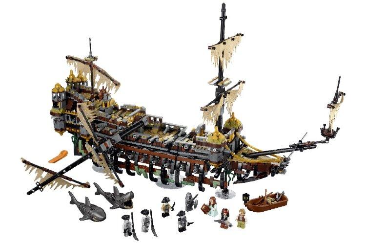 Конструктор Безмолвная Мэри Пираты Карибского моря   10680