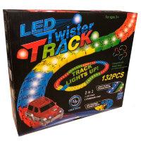 Чудо трасса с LED подсветкой  132 детали Led Twister