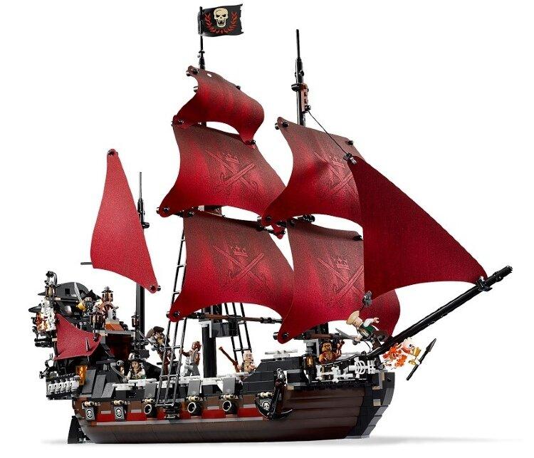 Конструктор Пираты Карибского моря Месть Королевы Анны /  1222 детали Lele 39008