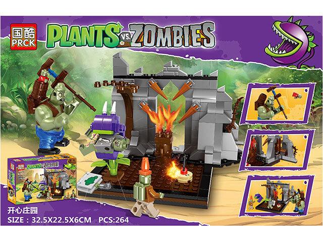 Конструкторов Зомби против растений Plants War PRCK 69302