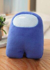 Мягкая игрушка синий из Among US  Классический Амонг АС  20 см