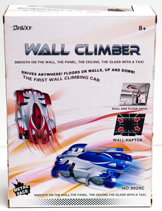 Антигравитационная машинка-стенолаз Wall Climber