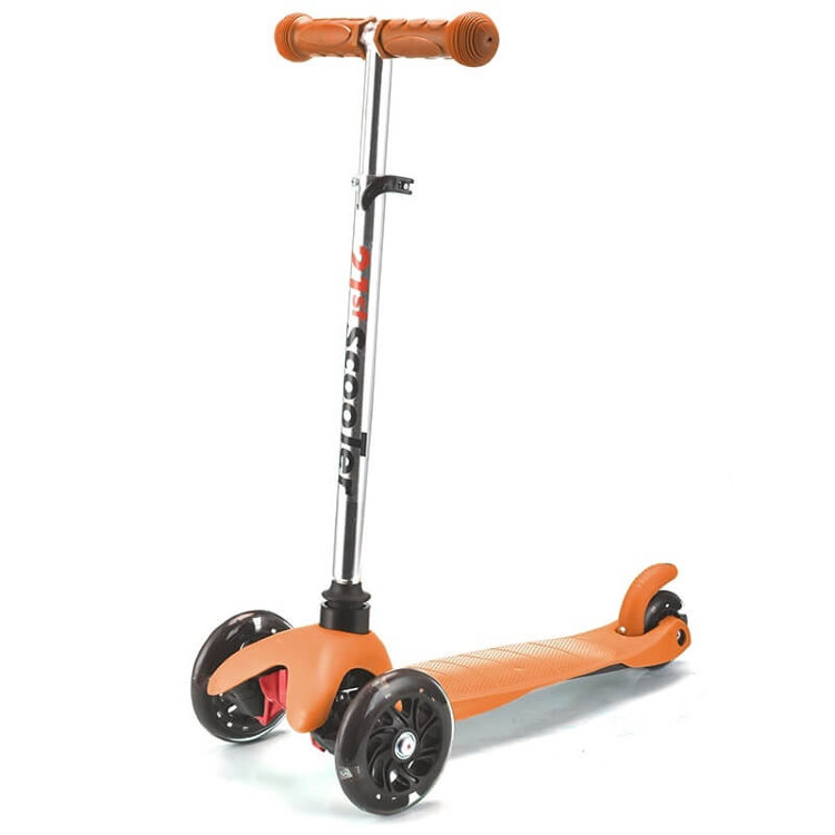 Детский самокат Scooter Mini с регулировкой руля и светящимися колесами