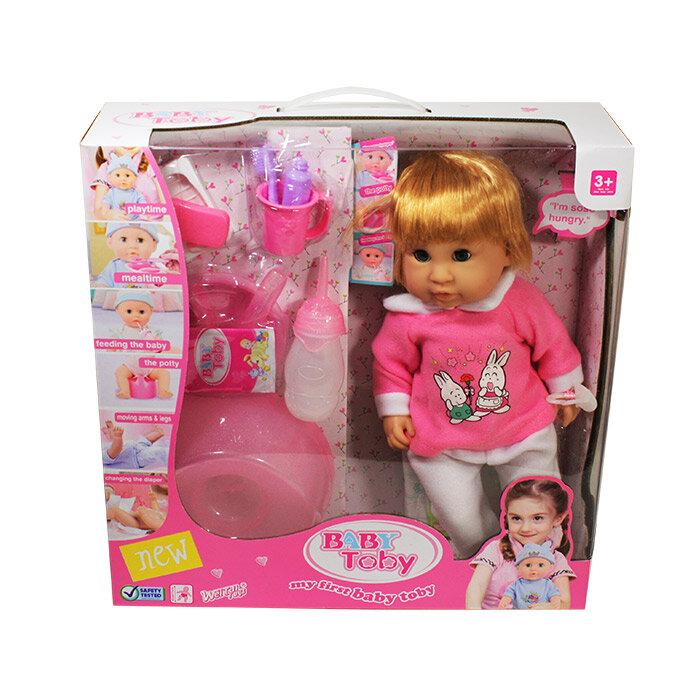 Интерактивная кукла Baby Toby 43 см. (пьет, писает)