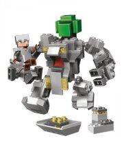 "Конструктор Миникрафт ""Робот Титан"" 221 дет. MY WORLD Lari 11135"