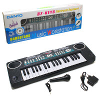 Синтезатор Canto HL-3771FM с радио и микрофоном