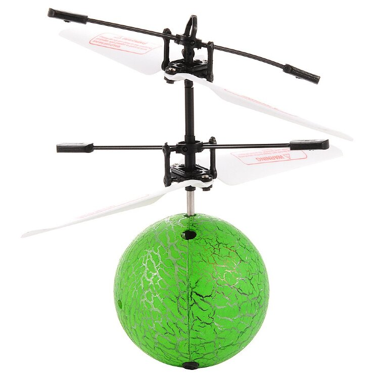 Инттерактивная игрушка Летающий шар с подсветкой