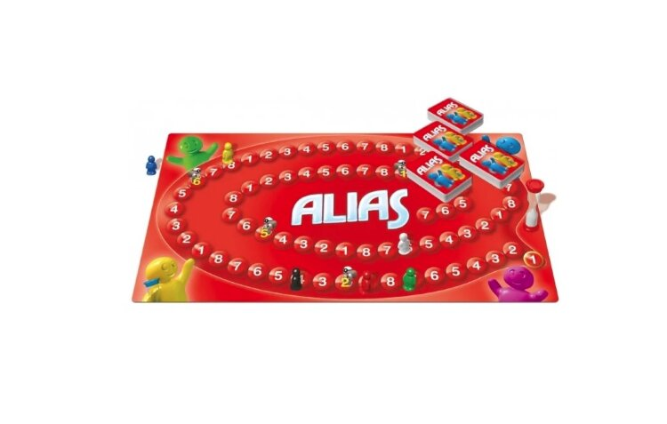 Настольная игра Алиас Скажи иначе Alias