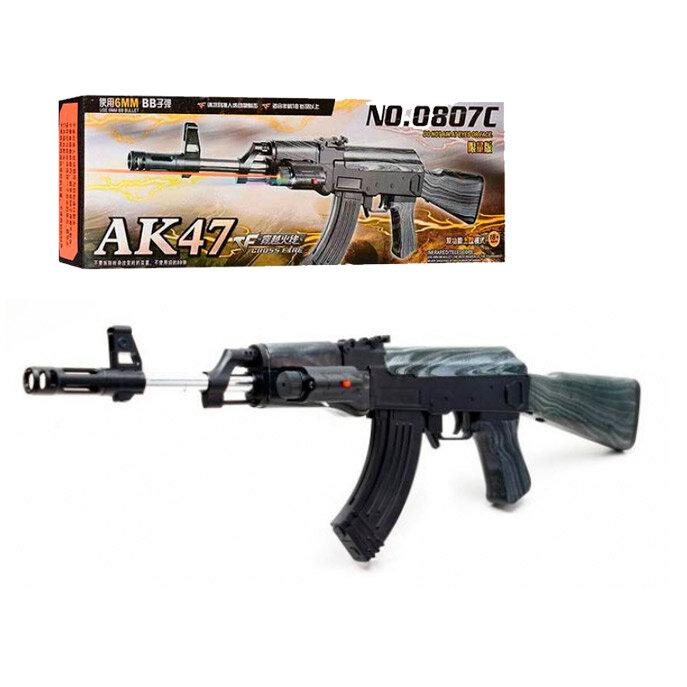 Детский автомат Калашникова АК-47 NO.0807C